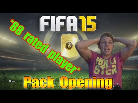 88 - Let's hit 800 Likes for ANOTHER Pack Opening!! SHARE this video & don't forget to SUBSCRIBE for more! :) First Pack Opening: https://www.youtube.com/watch?v=6wSpVfx3GoQ Fifa 15 Tutorials...