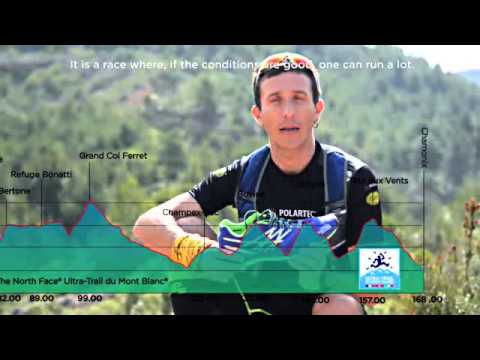 JAVIER runs UTMB with THE NORTH FACE powered by VIBRAM®