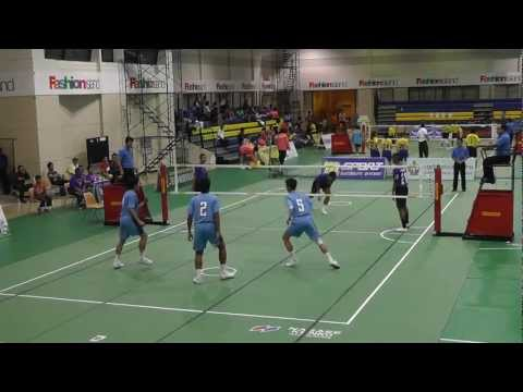 Sepak Takraw Princess Cup 2012 - Port Authority of Thailand vs. Royal Thai Navy