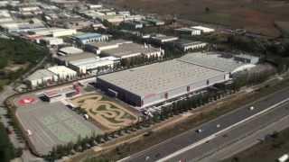 Honda - Honda Logistic Center - TIMELAPSE