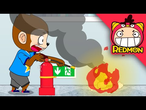Be Careful of Fire / Kids safety #08 [REDMON]