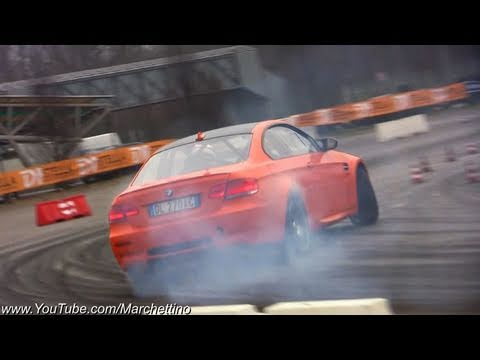 BMW M3 E92 EPIC Drifting!!