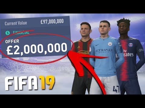 FIFA 19 CAREER MODE BEST CHEAP WONDERKIDS!!! (Under £15m Stars!)
