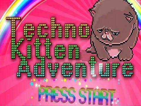 Video of Techno Kitten Adventure