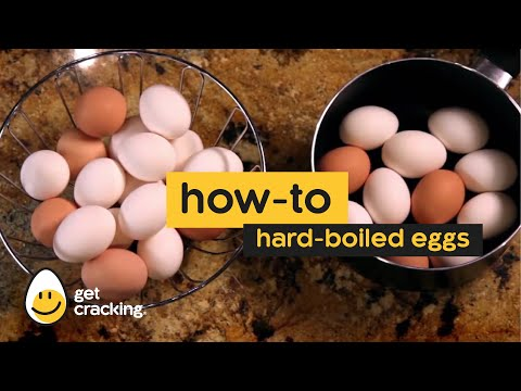 How to make hard-cooked eggs.