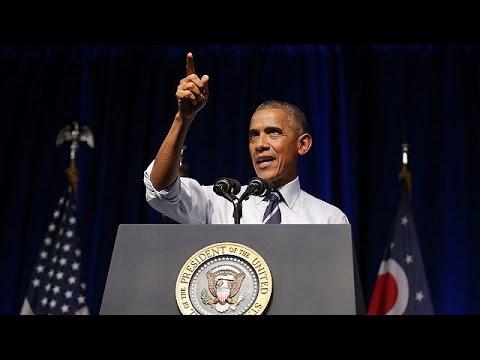 Μπαράκ Ομπάμα: «Ακατάλληλος ο Ντόναλντ Τραμπ για τον Λευκό Οίκο»