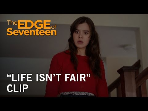 The Edge of Seventeen (Clip 'Life Isn't Fair')