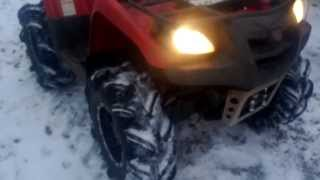 4. 2006 Suzuki Vinson 500 4x4 walk around