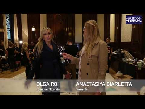 Fashion Designer Olga Roh Interview at London Fashion Week