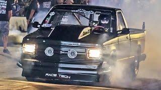 1600+hp TWIN TURBO Small Tire S10 - CORNFED 2.0! by 1320Video