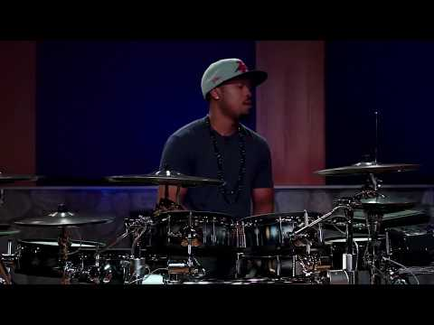 tony - We Love Playing Drums: http://www.DrumeoEdge.com . In this lesson, we had the opportunity to have Tony Royster Jr join us at Drumeo as part of his Canadian R...