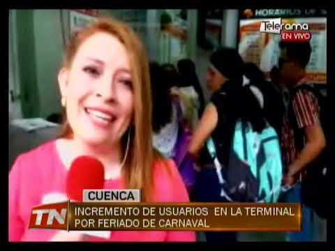 Turistas se preparan para feriado de carnaval