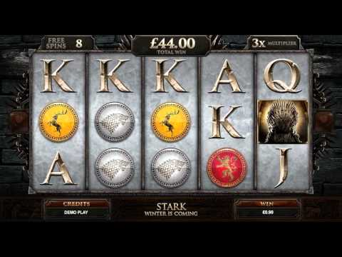 Game of Thrones™ Online Slot Game Promo Video