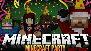 """ITS PARTY TIME"" Minecraft PARTY! w/JeromeASF, Bashurverse,&AshleyMariee!"