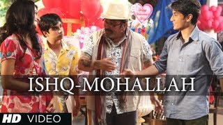 Nonton Welcome To The Ishq Mohallah Full Video Song Chashme Baddoor   Ali Zafar  Siddharth Film Subtitle Indonesia Streaming Movie Download