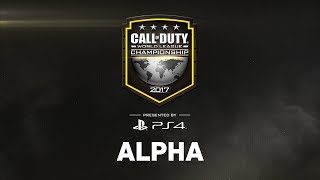 CWL Championship 2017 - Day 1 - Alpha