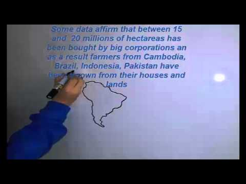 Draw our Land Grabbing