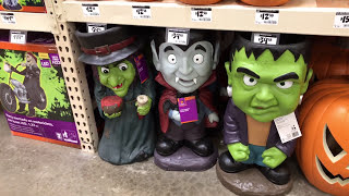 Halloween Decorations at The Home Depot - In-Store Walk Through, Animatronics & Toys, 2017