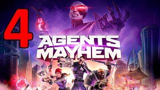 """Agents Of Mayhem Gameplay, Walkthrough, Review, EndingAgents of Mayhem is an open world game played from a third-person perspective. The game takes place in a futuristic version of Seoul, South Korea, billed as """"the city of tomorrow."""" The game features twelve different agents, and players can choose three agents from them to complete missions and explore the world. The twelve agents include Fortune, a Colombian former sky pirate; Hardtack, a United States Navy chief petty officer; Hollywood, actor and proclaimed """"Face of Mayhem""""; Rama, an Indian immunologist; and Pierce Washington, who after driving L.E.G.I.O.N. out of Stilwater, joined M.A.Y.H.E.M. under the alias """"Kingpin"""". Also available to select are: Yeti, Scheherazade, Oni, Braddock, Daisy, Red Card, and Joule.Each agent has their own unique play-style and abilities. For instance, Hardtack uses shotgun as his primary weapon, while Hollywood utilizes his assault rifle. As players deal damage to enemies with their weapons, players accumulate points that will fill up a bar. When the bar is filled, players can utilize the agents' Mayhem abilities, which are superpower moves that greatly aid player in combat. Different agents have different mayhem abilities. For example, Fortune can use a drone to stun enemies, while Hollywood can trigger massive explosions around him.[5] Players can switch between the three agents they have selected freely,[6] and experiment with different combinations of agents to see which trio of characters suit their playstyle the most. Movement in the game is fast. The agents can triple-jump around the city or use cars to traverse the game's world.In addition to main campaign missions, there will also be unlock missions, which unlock new agents for players to control, and personal missions, which delves into the back-story of these agents. Different agents will have different personality, and their responses to in-game events vary. As the player progresses in the game, the agents will gain ex"""