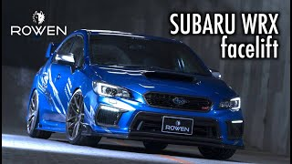 SUBARU WRX facelift Bodykit&Exhaust by ROWEN JAPAN *New Products