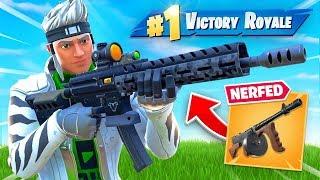 Epic NERFED Drum Gun for THIS (New Gun)