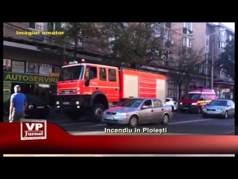 Incendiu în Ploiești