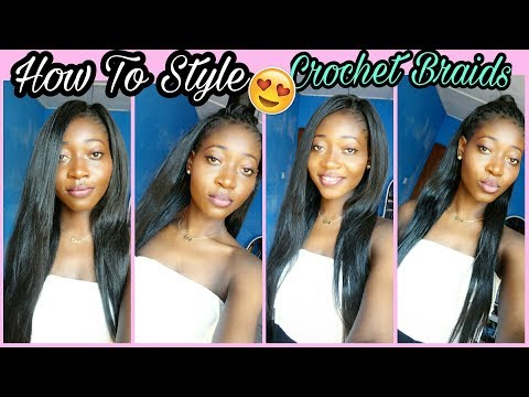 4 Super Easy Straight Crochet Hairstyle    Outrè Kanekalon Hair    Back To School Hairstyle