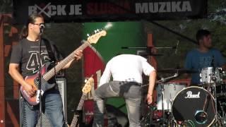 """Jeřabinky Live """"Pardálův Výběh"""" Hl/n Vltavou 28.6.2014"""