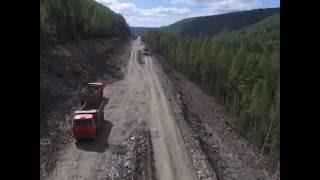 Ремонт дороги Епишино - Северо-Енисейский