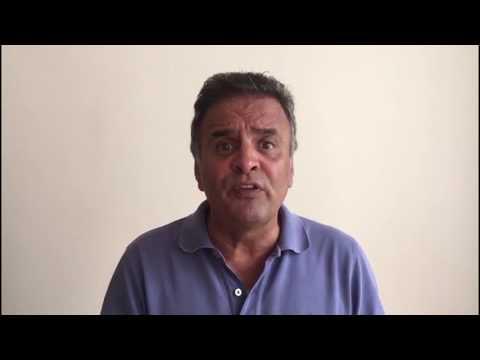 """Aécio Neves: """"O respeito à verdade é a essência da democracia. E por ela eu vou lutar até o fim"""""""
