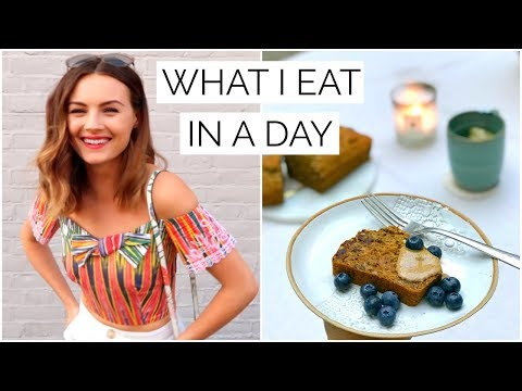 26. WHAT I EAT IN A DAY  Niomi Smart