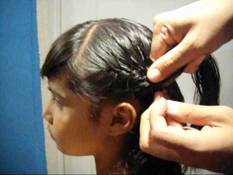 como hacer como hacer trenza por un lado/braid on one side