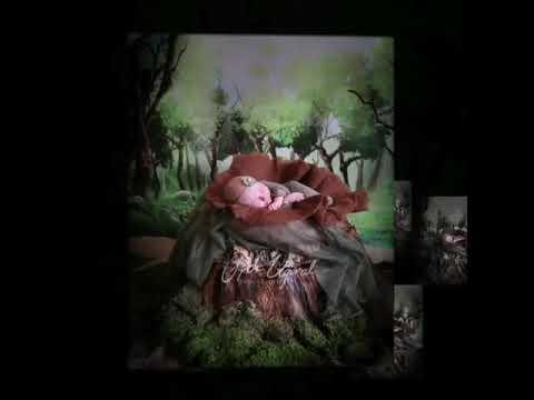 Мягкая ручная работа, пушистая 100% шерсть, круглая детская корзина оде… видео