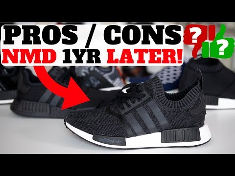 1 YEAR AFTER WEARING ADIDAS NMDS!! PROS & CONS!