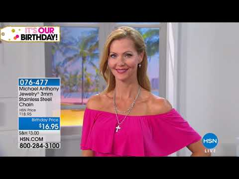 HSN | Michael Anthony Jewelry Celebration 07.19.2018 - 09 AM