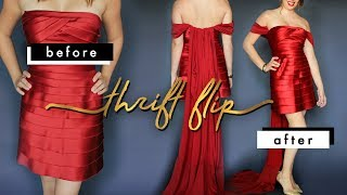 Red Carpet Looks From The THRIFT STORE!