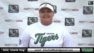 2022 Charlie Tang Pitcher Softball Skills Video - Ohana Tigers