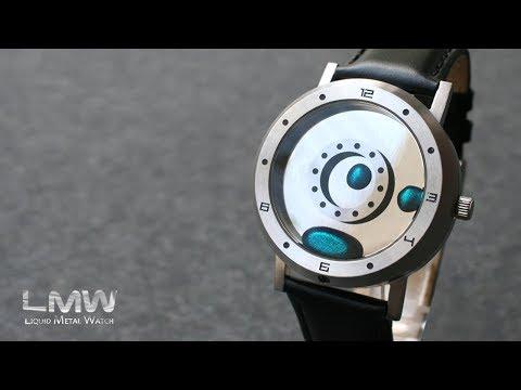 Liquid Metal Watch - First Look | Tokyoflash Japan