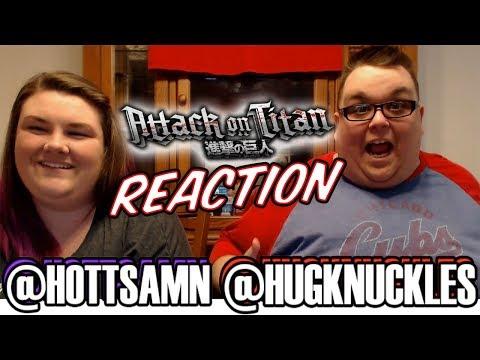 """Attack On Titan Season 1 Episode 12 (1x12) REACTION!! """"Wound"""""""