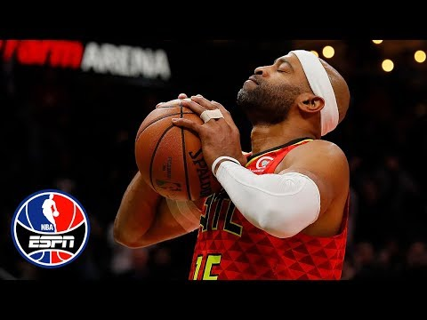 Video: Vince Carter slams home 25,000th career point in the final second | NBA on ESPN