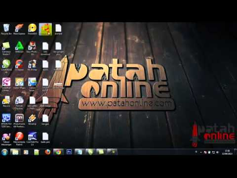 patah19 - Tutorial cara membuat logo ubuntu dengan corldraw.
