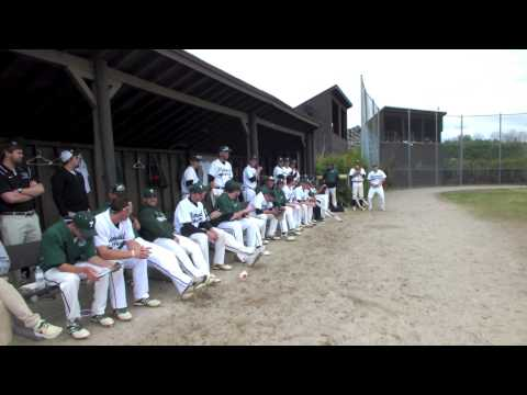 PSU Baseball Senior Day Ceremony