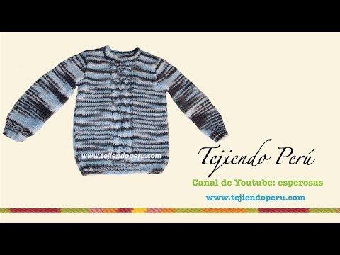 Videos relacionados con pullover a dos agujas para niños