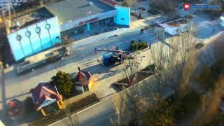 Центр Щёлкино, 20.01.2016 - time-lapse с камеры 3