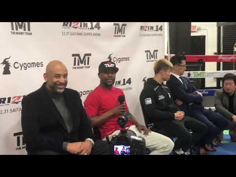 Floyd Mayweather excited about Mikey vs Spence