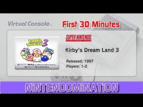 kirby's dreamland 3 wii u review