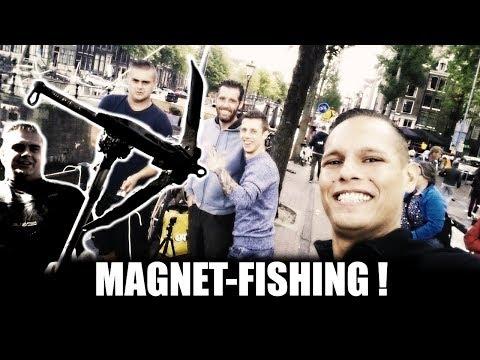 MAGNEETVISSEN - HARTJE AMSTERDAM - METAALDETECTOR NEDERLAND (видео)