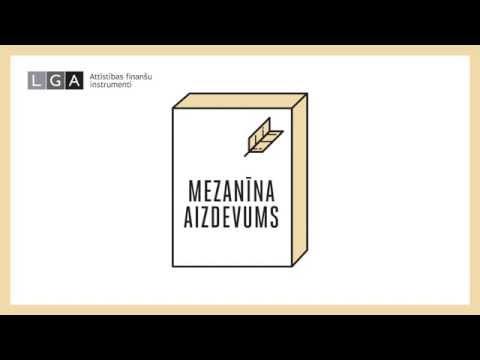 LGA Mezanīna aizdevums