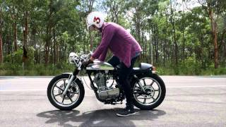 5. Yamaha SR400 Café Racer Custom - 2015 model review