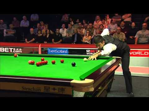 Ronnie O'Sullivan asks referee what the prize money for a 147 break is after potting just two balls. He then goes on to make the 147 in spectacular fashion.